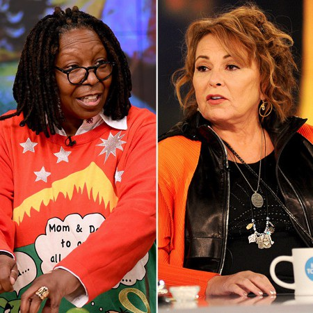 Hồi tháng 5 năm nay, Whoopi Goldberg đã bất ngờ trở thành tâm điểm chỉ trích khi hình ảnh của nữ diễn viên xuất hiện cùng chiếc áo trào phúng Tổng thống Mỹ Donald Trump. Whoopi Goldberg sau đó cũng đã lên tiếng phân bua nhưng điều đáng chú ý là nữ diễn viên này lại lôi cả người đồng nghiệp Roseanne Barr vào cuộc và cố tình khơi lại việc Barr từng vướng phải làn sóng chỉ trích dữ dội do lỡ lời phân biệt chủng tộc với cựu trợ lý Nhà trắng Valerie Jarrett.