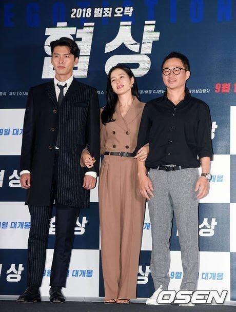 Son Ye Jin tham gia các sự kiện quảng cáo bộ phim Negotiation tại Hàn Quốc, tháng 9/2018.