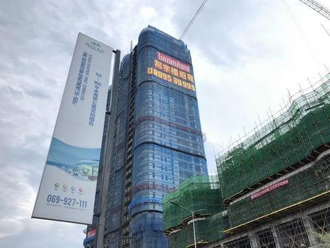 Một dự án do Trung Quốc đầu tư ở Sinhanoukville (Ảnh minh họa: Washington Post)