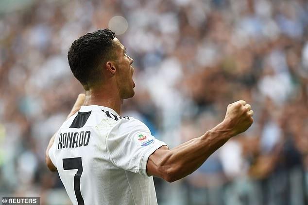 Hình ảnh cho thấy vị vua C.Ronaldo đã trở lại