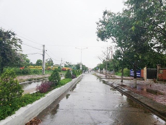 Một góc trung tâm huyện U Minh (tỉnh Cà Mau).