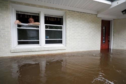 Ngập lụt tồi tệ tại Bắc Carolina, Mỹ do bão Florence Ảnh: REUTERS