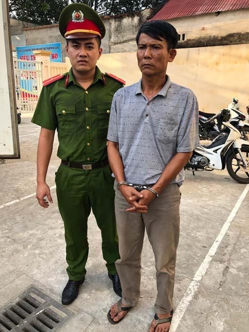 Một trong các đối tượng trong đường dây trộm cắp xe máy liên tỉnh bị bắt giữ.