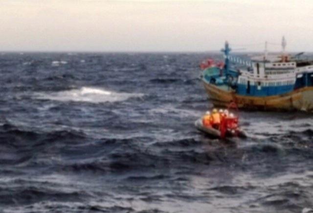 Thuyền trưởng tàu cá rơi xuống biển mất tích (ảnh minh họa).