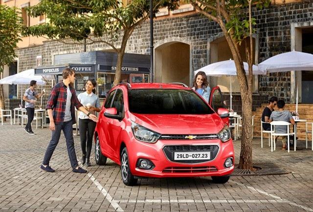 Chevrolet Spark hiện được lắp ráp và phân phối chính hãng tại Việt Nam