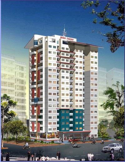 Phối cảnh dự án chung cư Minh Thành