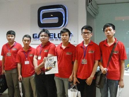 Sinh viên Aptech trải nghiệm tại Gameloft