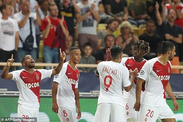 Monaco đã tạo lợi thế trước khi có bàn thắng mở tỷ số ở phút 18