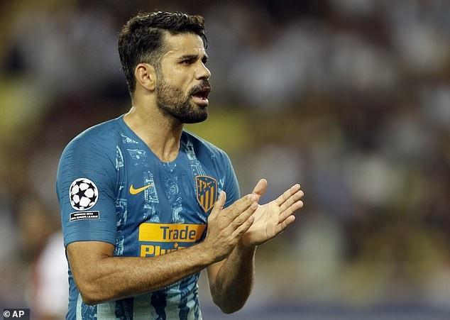 Trước đó ở phút 31, Diego Costa gỡ hòa 1-1 cho Atletico