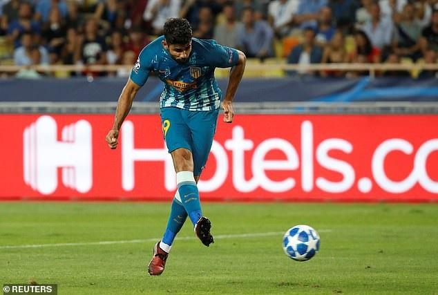 Diego Costa đang giữ được phong độ ghi bàn đều đặn cho Atletico