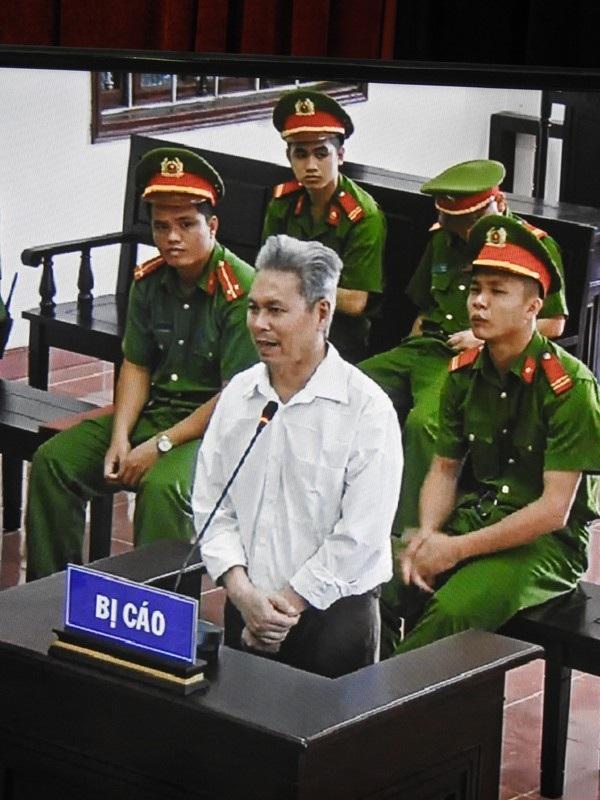 Bị cáo Đào Quang Thực