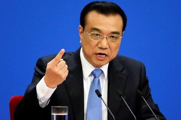 Thủ tướng Trung Quốc Lý Khắc Cường tuyên bố Trung Quốc sẽ không phá giá Nhân dân tệ để hạn chế tác động của căng thẳng thương mại. (Ảnh: Reuters)