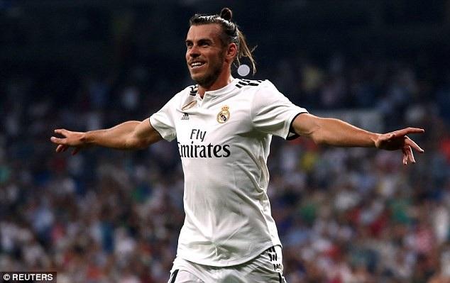 Bale đang chơi chói sáng khi thay thế vai trò C.Ronaldo để lại