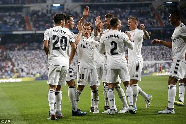 Real Madrid tiếp tục dẫn đầu La Liga đầy thuyết phục