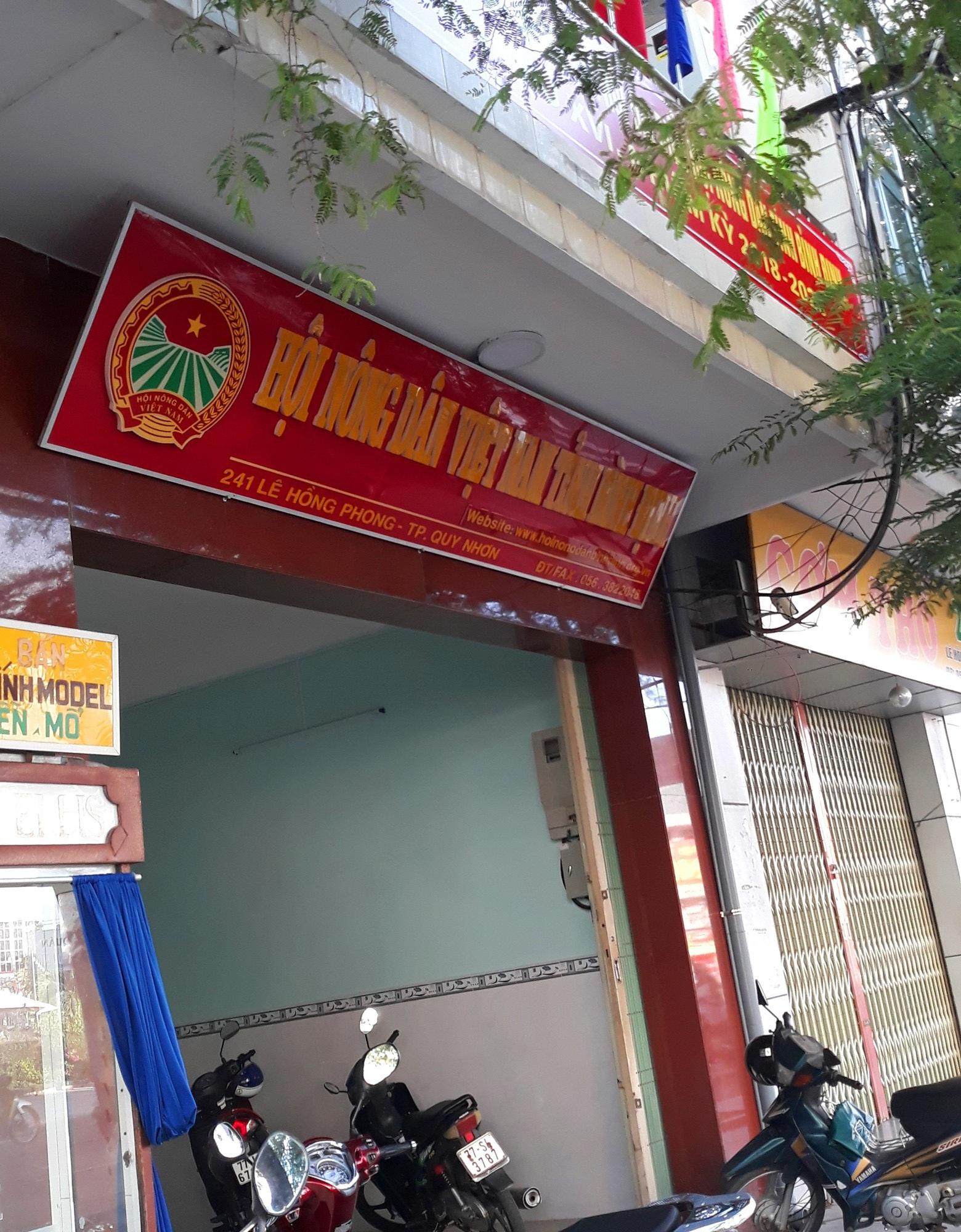 """Chủ tịch Hội Nông dân tỉnh Bình Định chỉ đạo chi tiền Quỹ hội để """"tiếp khách"""" - Ảnh 1."""