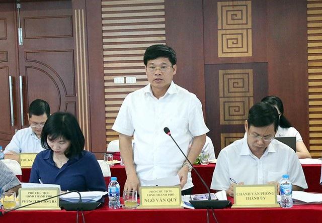 Ông Ngô Văn Quý đánh giá Sở TT&TT đã triển khai tích cực quản lý thông tin trên mạng