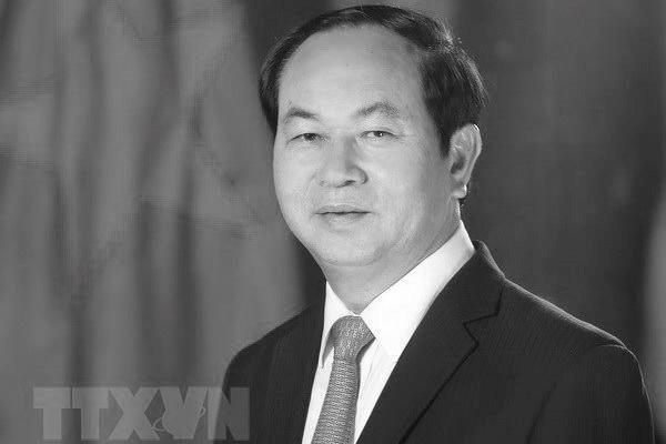 Chủ tịch nước Trần Đại Quang từ trần (Ảnh: TTXVN)