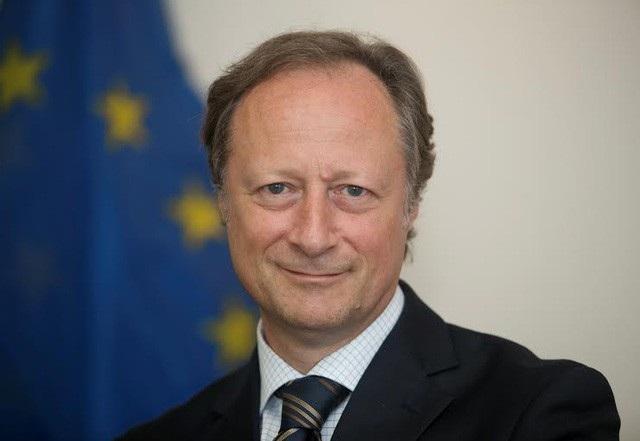 Đại sứ Bruno Angelet, Trưởng Phái đoàn Liên minh châu Âu tại Việt Nam.