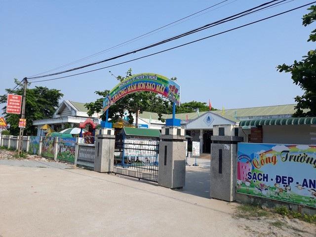 UBND huyện Tư Nghĩa xác nhận thông tin đang xem xét hình thức xử lý kỷ luật đối với Hiệu trưởng trường Mầm non Sao Mai
