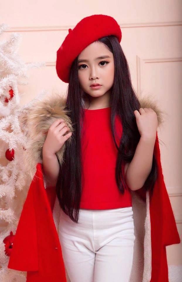 Nguyễn Lê Khánh Linh - Mẫu nhí đến từ Hải Phòng sẽ là một trong những đại diện của Việt Nam tham gia trình diễn tại Malaysia Fashion Week 2018.