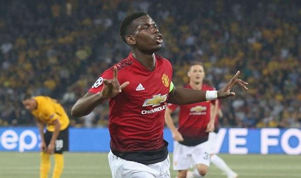 Pogba tỏa sáng rực rỡ giúp MU giành chiến thắng với tỷ số 3-0