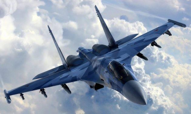 Máy bay Su-35 của Nga (Ảnh: Asia Times)