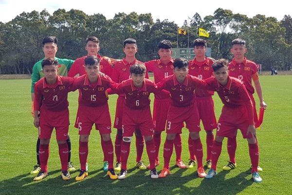 U16 Việt Nam thua trận ra quân ở giải châu Á
