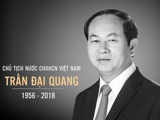 Chủ tịch nước Trần Đại Quang từ trần sáng 21/9, hưởng thọ 62 tuổi.