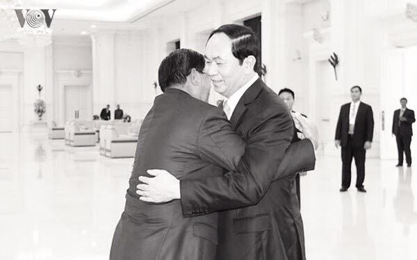 Chủ tịch nước Trần Đại Quang nặng tình nghĩa với đất nước Campuchia và hứa sẽ trở lại thăm vào đầu năm 2019, nhưng ông đã không thể thực hiện được chuyến đi này (ảnh: VOV)