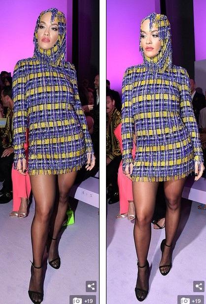 Rita Ora khoe ngực căng đầy - 8