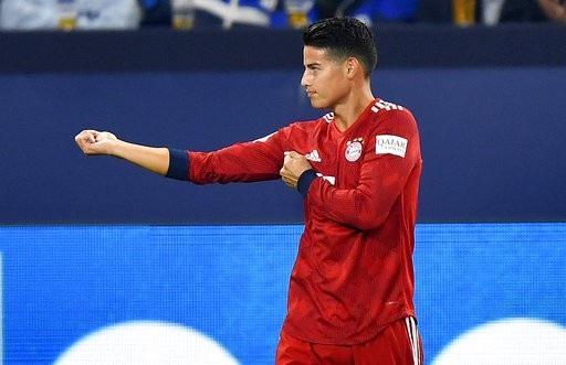 James Rodiguez tỏa sáng trong trận đấu với Schalke