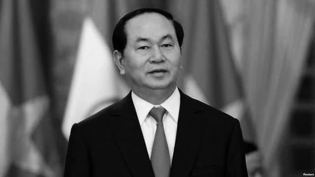 Chủ tịch nước Trần Đại Quang từ trần sáng 21/9, hưởng thọ 62 tuổi (ảnh: Reuters)