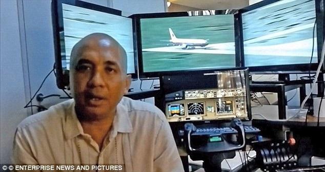 Cơ trưởng MH370 Zaharie Shah (Ảnh: Dailymail)