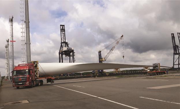 Những sải cánh turbine ngoại cỡ