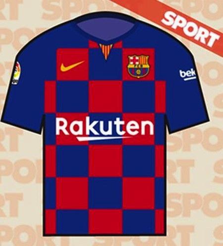 … chê bai áo đấu mới của Barcelona