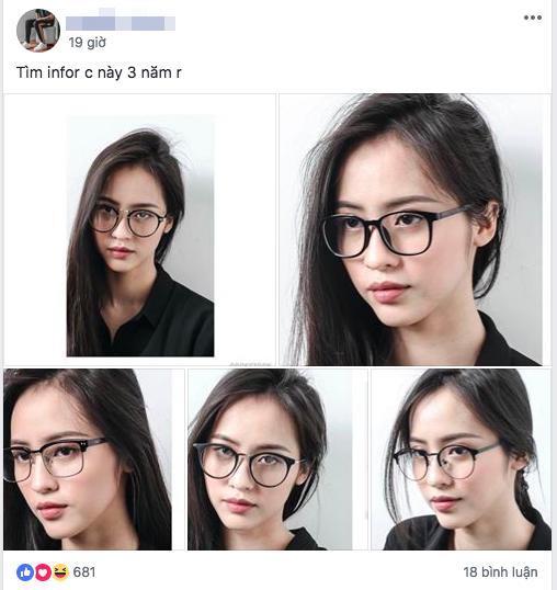 Những hình ảnh của Nguyễn Phương Linh (SN 1994) được chia sẻ trên một diễn đàn bạn trẻ yêu thích cái đẹp. Theo chàng trai đăng bài viết, cậu đã tìm kiếm cô gái này suốt 3 năm.