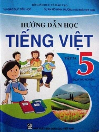 Sách hướng dẫn học tiếng Việt theo mô hình VNEN.