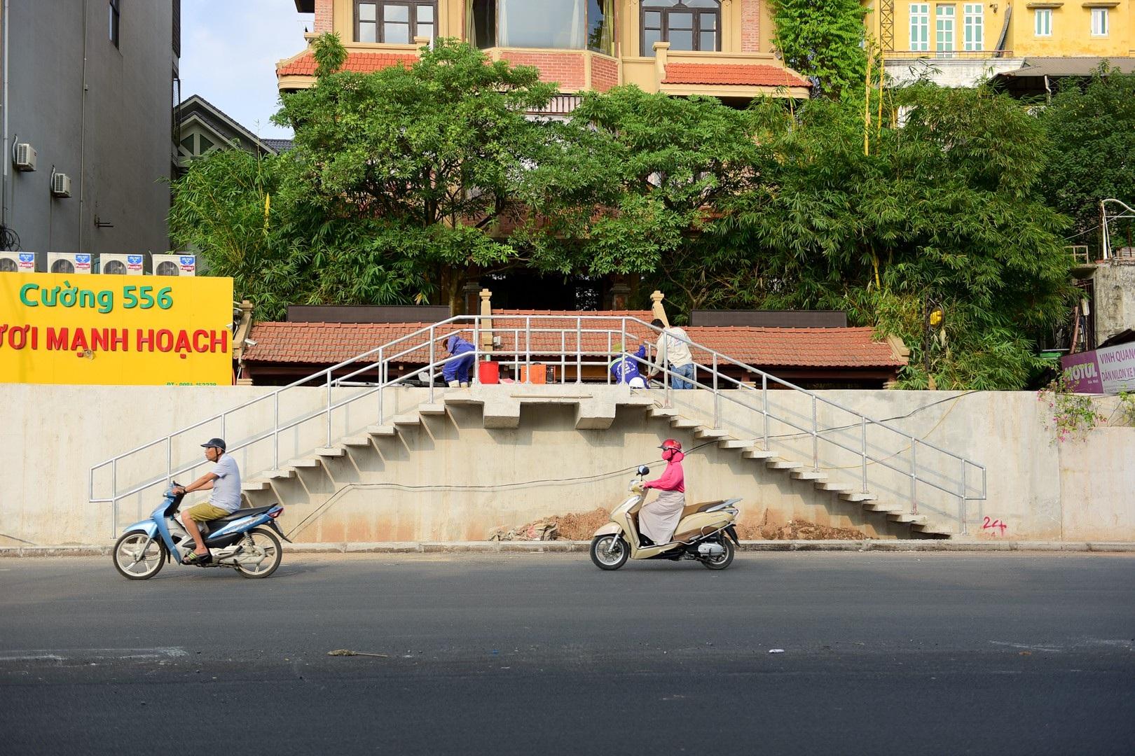 Hà Nội: Toàn cảnh dự án cầu vượt An Dương sau hơn một năm thi công - Ảnh 9.