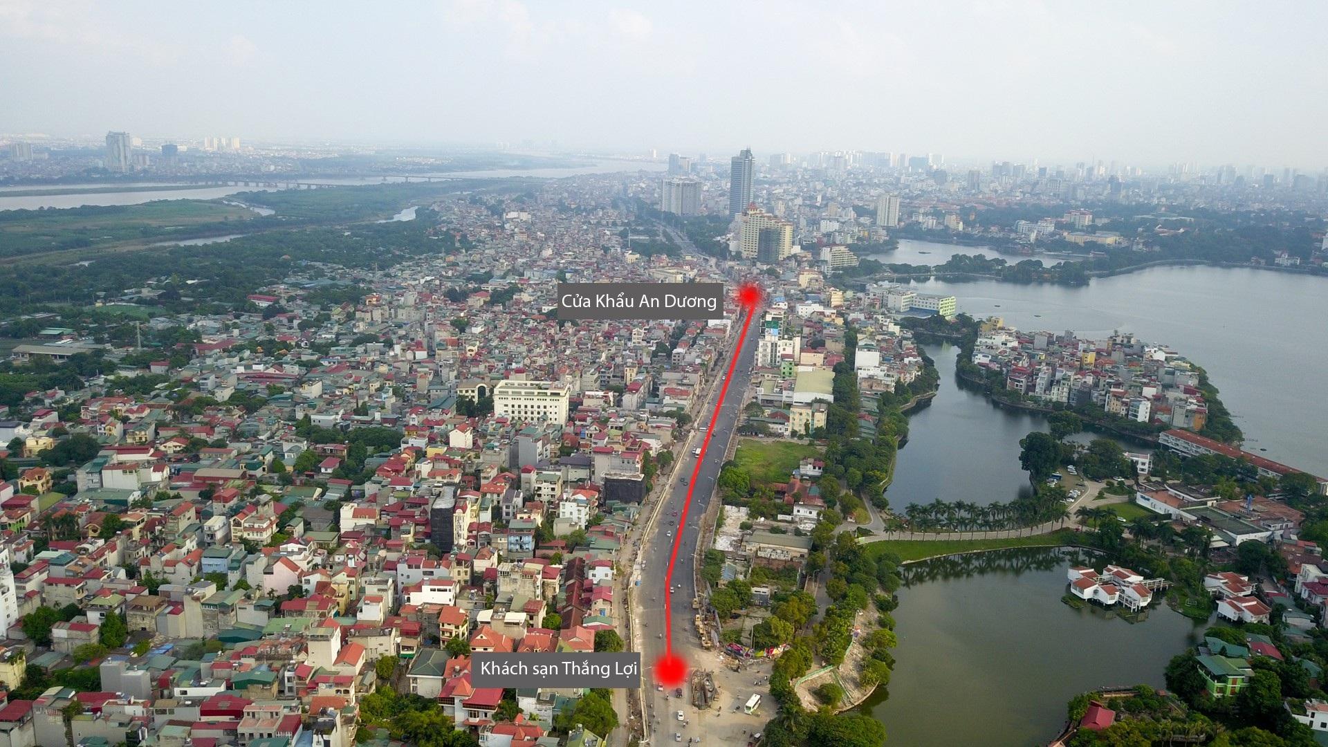 Hà Nội: Toàn cảnh dự án cầu vượt An Dương sau hơn một năm thi công - Ảnh 12.