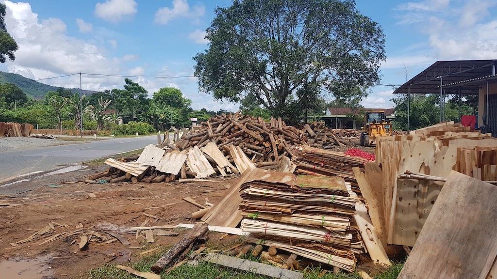 Truy trách nhiệm cán bộ để xưởng gỗ trái phép hoạt động tràn lan tại Nghệ An! - Ảnh 4.