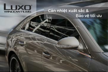 Luxo – Phim cách nhiệt ô tô Mỹ đã có mặt tại Việt Nam - 1