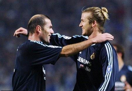 Beckham cũng muốn mời Zidane về làm huấn luyện viên