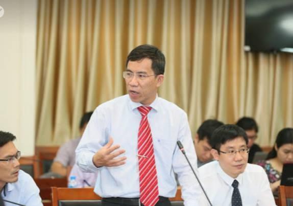 Ông Vũ Thanh Sơn - Phó Vụ trưởng Vụ Bồi dưỡng và đào tạo, Ban Tổ chức TƯ