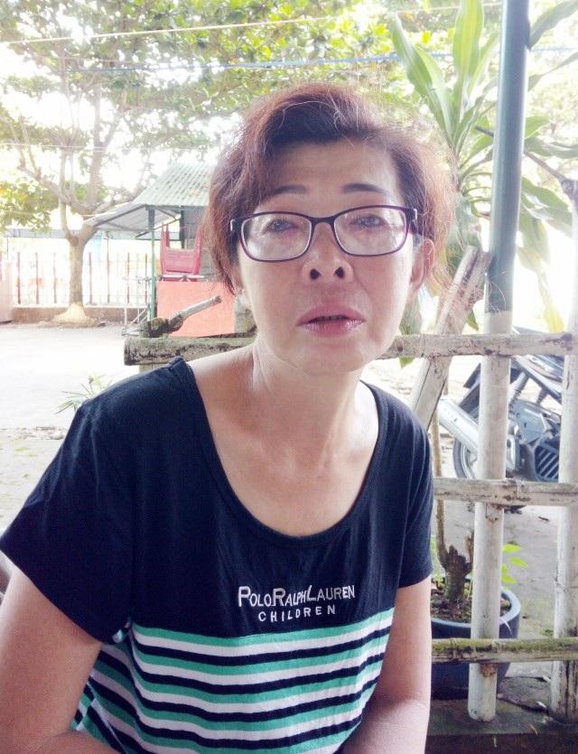 Bà Châu Thị Yến Nhi đi đòi đất nhiều năm nhưng vẫn chưa được giải quyết.