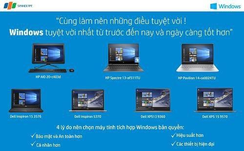 Lựa chọn lý tưởng cho doanh nghiệp với máy tính tích hợp Windows bản quyền - 7