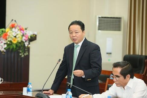 Bộ trưởng TN-MT Trần Hồng Hà sơ lược báo cáo tổng kết 10 năm thực hiện Chiến lược biển Việt Nam