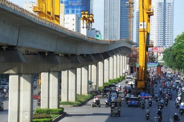 Dự án đường sắt đô thị Hà Nội tuyến Cát Linh – Hà Đông cũng đang được kiểm toán