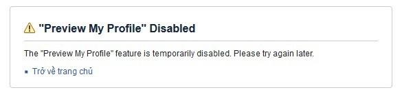 """Hiện tính năng """"Xem trang với tư cách khác"""" đã bị Facebook vô hiệu hóa"""