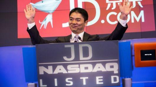 Ông Richard Qiangdong Liu, người sáng lập, chủ tịch và CEO của JD.com. (Nguồn: Getty Images)