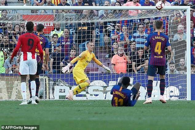 Barcelona đã chơi một trận đấu đầy thất vọng